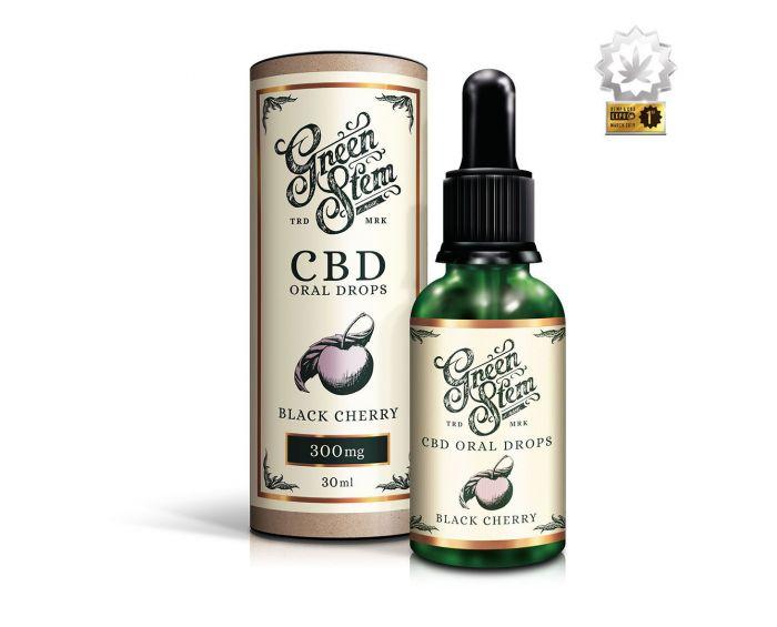 Black Cherry CBD Oil Oral Drops