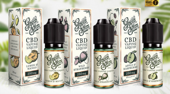 Green Stem CBD Eliquid