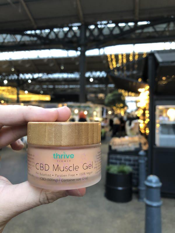CBD Muscle Gel