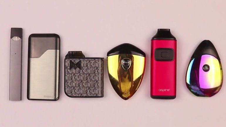 Your Guide to Pod Vapes and Nicotine Salts